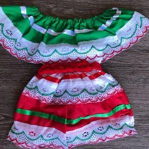 Baby Mexican Dress/ Vestido Mexicano 0T